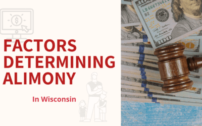 How is Alimony Awarded In Wisconsin?