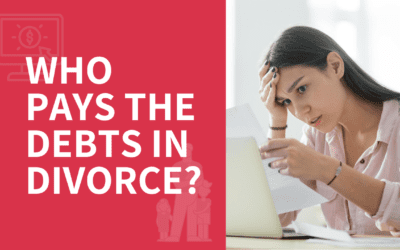 How Is Debt Divided in Divorce