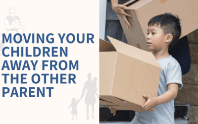 Can a Custodial Parent Move a Child to Another County?