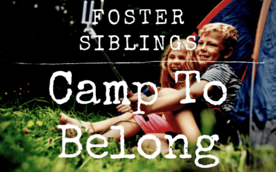 Bringing Foster Care Siblings Together