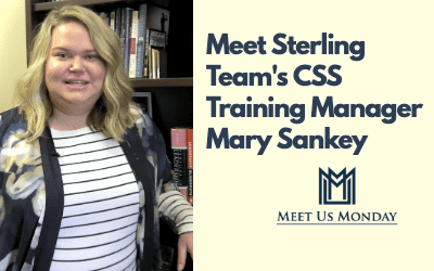Meet CSS Training MGR Mary Sankey