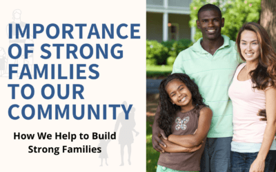 Strong Families Build A Strong Society