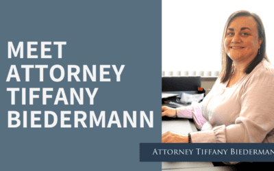 Meet Attorney Tiffany Biedermann